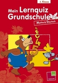 Mein Lernquiz Grundschule: 2. Klasse, Mathe & Deutsch