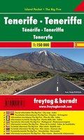 Freytag & Berndt Autokarte Teneriffa; Tenerife; Teneryfa