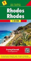 Freytag & Berndt Autokarte Rhodos; Rodos; Rhodes; Rodi