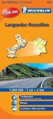 Michelin Karte Languedoc-Roussillon