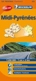 Michelin Karte Midi-Pyrénées