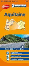 Michelin Karte Aquitaine