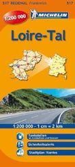 Michelin Karte Loire-Tal; Pays de la Loire