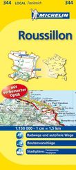 Michelin Karte Roussillon; Aude, Pyrénées-Orientales