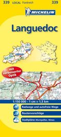 Michelin Karte Languedoc; Gard, Hérault
