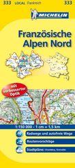 Michelin Karten: Französische Alpen Nord; Isère, Savoie; Bl.333