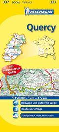 Michelin Karte Quercy; Lot, Tarn-et-Garonne