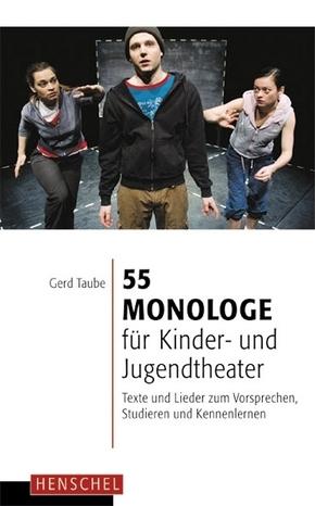 55 Monologe für Kinder- und Jugendtheater