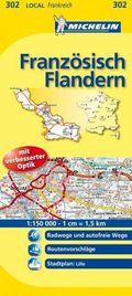 Michelin Karte Französisch Flandern; Nord