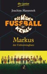 Die Wilden Fußballkerle 13, Markus der Unbezwingbare