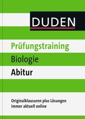 Duden Prüfungstraining Biologie Abitur