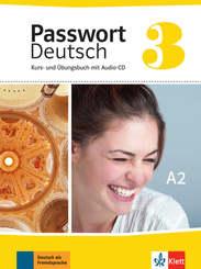 Passwort Deutsch, Neue Ausgabe: Kurs- und Übungsbuch, m. Audio-CD; 3