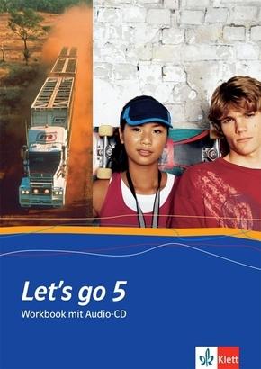 Let's go 5, m. 1 Audio-CD
