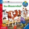 Der Bauernhof, 1 Audio-CD - Wieso? Weshalb? Warum?, Junior