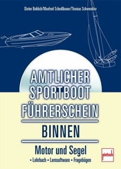 Amtlicher Sportbootführerschein Binnen, m. CD-ROM
