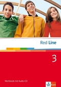Red Line: Klasse 7, Workbook m. Audio-CD; Bd.3