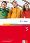 Red Line: Klasse 7, Workbook m. Audio-CD u. CD-ROM; Bd.3