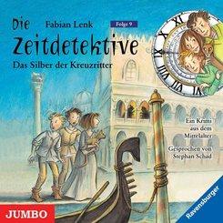 Die Zeitdetektive - Das Silber der Kreuzritter, 1 Audio-CD