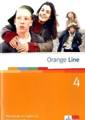 Orange Line: Klasse 8, Workbook m. Audio-CD, Erweiterungskurs; Bd.4