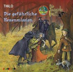 Die magische Insel, Audio-CDs: Die gefährliche Hexenmission, 2 Audio-CDs; 5