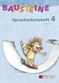 Bausteine Deutsch, Spracharbeitshefte: Spracharbeitsheft 4. Klasse, Teil A/B, 2 Bde.