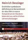 Kompendium der Glaubensbekenntnisse und kirchlichen Lehrentscheidungen, 1 CD-ROM