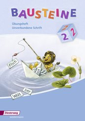 Bausteine Übungshefte, Ausgabe 2008: 2. Schuljahr, Übungsheft Unverbundene Schrift