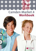 Camden Market, Ausgabe Sekundarstufe I: Klasse 8, Workbook, m. CD-ROM 'Multimedia-Sprachtrainer' u. Audio-CD; Bd.4