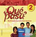 Qué pasa?: Klasse 7 oder 8, Multimedia-Sprachtrainer, 1 CD-ROM; Bd.2