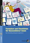 Formulare und Checklisten für Klassenlehrer, m. 1 CD-ROM