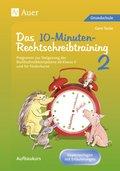 Das 10-Minuten-Rechtschreibtraining, Kopiervorlagen mit Erläuterungen - Tl.2
