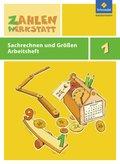 Zahlenwerkstatt, Materialsammlung: 1. Schuljahr, Sachrechnen und Größen Arbeitsheft