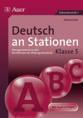 Deutsch an Stationen, Klasse 5