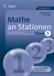 Mathe an Stationen, Klasse 5