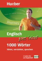 Englisch ganz leicht - 1000 Wörter, 2 Audio-CDs