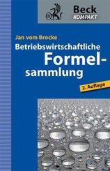 Betriebswirtschaftliche Formelsammlung