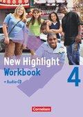 New Highlight - Allgemeine Ausgabe - Band 4: 8. Schuljahr