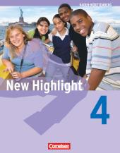 New Highlight, Hauptschule Baden-Württemberg: 8. Schuljahr, Schülerbuch; Bd.4