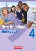 New Highlight, Hauptschule Baden-Württemberg: 8. Schuljahr, Workbook; Bd.4