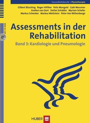 Assessments in der Rehabilitation: Kardiologie und Pneumologie, m. CD-ROM; Bd.3