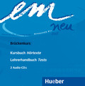 em neu 2008, Brückenkurs: 2 Audio-CDs zum Kursbuch