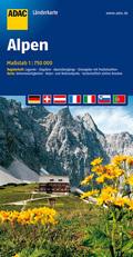 ADAC Karte Alpen