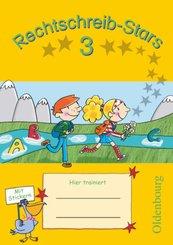 Rechtschreib-Stars - Ausgabe 2008 - 3. Schuljahr