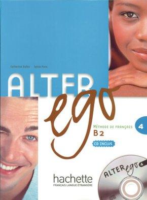 Alter ego: Kursbuch, m. Audio-CD; Bd.4