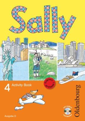 Sally, Ab Klasse 1: 4. Schuljahr, Ausgabe D, Activity Book m. Audio-CD