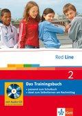 Red Line: Klasse 6, Das Trainingsbuch m. Audio-CD; Bd.2