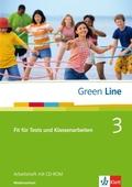 Green Line, Neue Ausgabe für Gymnasien: Fit für Tests und Klassenarbeiten, Ausgabe Niedersachsen, Arbeitsheft m. CD-ROM; Bd.3