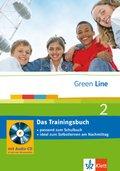 Green Line, Neue Ausgabe für Gymnasien: Klasse 6, Das Trainingsbuch m. Audio-CD; Bd.2