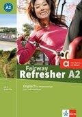 Fairway Refresher: Lehr- und Arbeitsbuch A2, m. 2 Audio-CDs