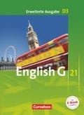 English G 21, Ausgabe D: 7. Schuljahr, Schülerbuch, Erweiterte Ausgabe; Bd.3